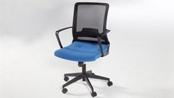 Simple Çalışma Masası Sandalyesi - Mavi görseli