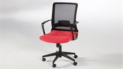 Simple Çalışma Masası Sandalyesi - Kırmızı görseli