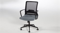 Simple Çalışma Sandalyesi - Gri görseli