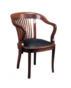 Senyör Ahşap Ayaklı Sandalye görseli