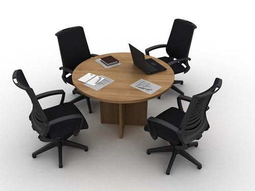 Orange Yuvarlak Toplantı Masası Q140 görseli