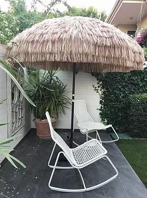 Hasır Bahçe Şemsiyesi  görseli